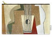 Guitar, By Pablo Picasso, 1919, Kroller-muller Museum, Hoge Velu Carry-all Pouch