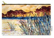 Gulf Coast Seascape Tropical Art Print Carry-all Pouch
