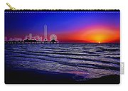 Gulf Coast Sunrise Painted Carry-all Pouch