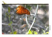 Gulf Fritillary Flying Carry-all Pouch