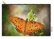 Gulf Fritillary Carry-all Pouch