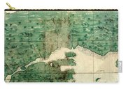 Gulf Of St Lawrence 1541 Carry-all Pouch