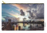 Gulfport Harbor Colors Carry-all Pouch