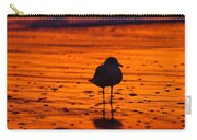 Gull Caught At Sunrise Carry-all Pouch