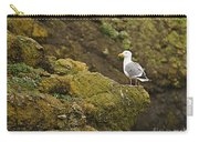 Gull On Cliff Edge Carry-all Pouch