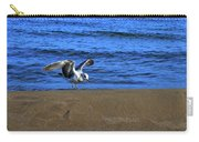 Gull On The Beach  Carry-all Pouch