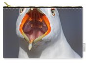 Gull Portrait Carry-all Pouch by Mircea Costina Photography