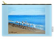 Gulls At Play Carry-all Pouch