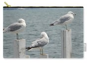 Gulls At Rest Carry-all Pouch
