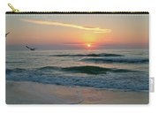 Gulls On The Gulf At Sunset Carry-all Pouch
