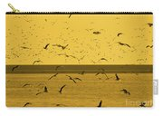 Gulls Orange Tint Carry-all Pouch