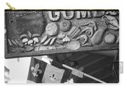 Gumbo Sign - Black And White Carry-all Pouch