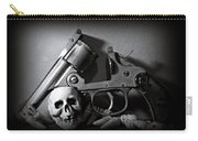 Gun And Skull Carry-all Pouch