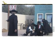 Gunfight Re-enactment O.k. Corral Tombstone Arizona 2004 Carry-all Pouch
