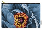 Gunmetal Peony Carry-all Pouch