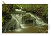 Gushing At Cave Falls Carry-all Pouch