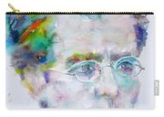 Gustav Mahler - Watercolor Portrait.3 Carry-all Pouch