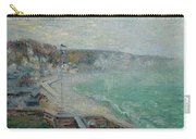 Gustave Loiseau 1865 - 1935 Beach Fecamp Carry-all Pouch