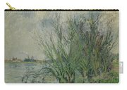 Gustave Loiseau 1865 - 1935 Willows, Edges Oise Or On The Banks Of The Oise Carry-all Pouch