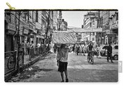 Guwahati In Black And White Carry-all Pouch