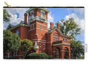 Gwinnett County Historic Courthouse Carry-all Pouch by Doug Camara