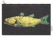 Gyotaku Snook Carry-all Pouch by Captain Warren Sellers