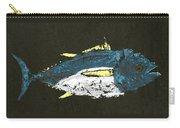 Gyotaku Yellowfin Tuna Carry-all Pouch