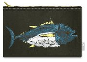 Gyotaku Yellowfin Tuna Carry-all Pouch