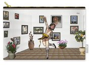 Digital Exhibartition _  Dancing Girl  Carry-all Pouch
