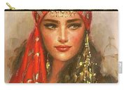 Gypsy Girl Portrait Carry-all Pouch