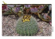 H D R Budding Cactus Carry-all Pouch