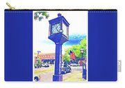 Haddonfield Clock Carry-all Pouch