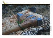 Hafted Hawaiian Adze Wailea Maui Hawaii Carry-all Pouch