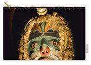 Haida Carved Wooden Mask 4 Carry-all Pouch
