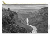 Haifoss Waterfall Iceland 1370 Carry-all Pouch