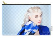 Hair And Beauty Fashion Portrait Carry-all Pouch