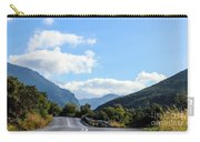 Hairpin Curve On Greek Mountain Road Carry-all Pouch