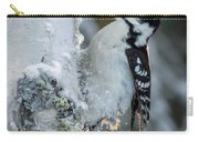 Hairy Woodpecker Female Carry-all Pouch