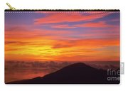 Haleakala Sunrise Colors IIi Carry-all Pouch