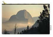 Half Dome And Fog At Olmsted Point In Yosemite Carry-all Pouch