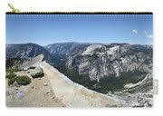 Half Dome And Yosemite Valley From The Diving Board - Yosemite Valley Carry-all Pouch