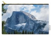 Half Dome In The Clouds Carry-all Pouch