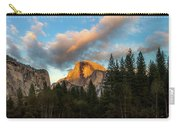 Half Dome Sunset Glow Carry-all Pouch