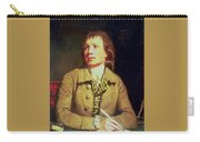 Half-length Portrait Of A Gentleman Sir Henry William Beechey Carry-all Pouch