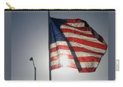 Half Mast Flag Honoring President Ronald Reagan Number 2 Casa Grande Arizona June 2004 Carry-all Pouch