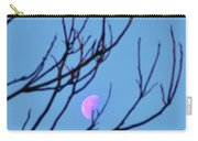 Half Moon Through The Trees Carry-all Pouch