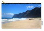 Hali Pale Beach  Kauai  Hawaii Carry-all Pouch