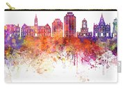 Halifax V2 Skyline In Watercolor Background Carry-all Pouch