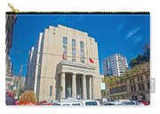 Hall Of Justice In Valparaiso-chile  Carry-all Pouch