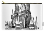 Hall Of The Snow King Monochrome Carry-all Pouch